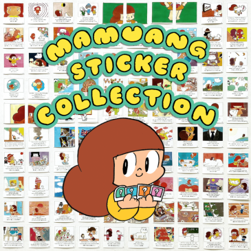 Mamuang Sticker Collection by Wisut Ponnimit