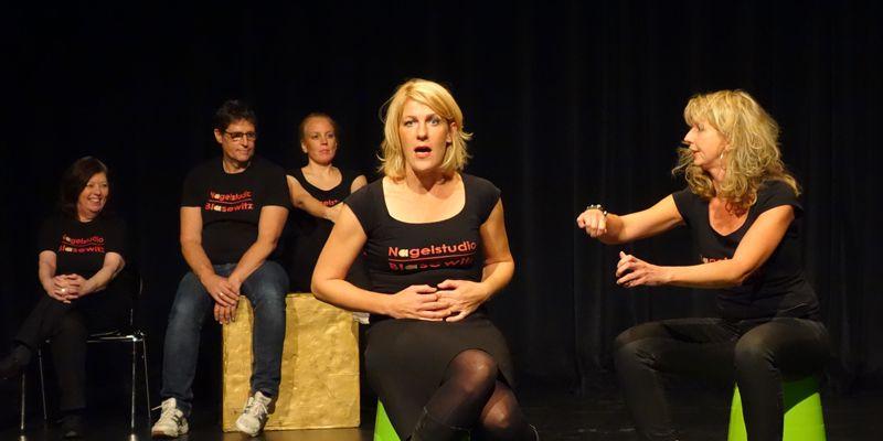 Improtheater Nagelstudio Blasewitz