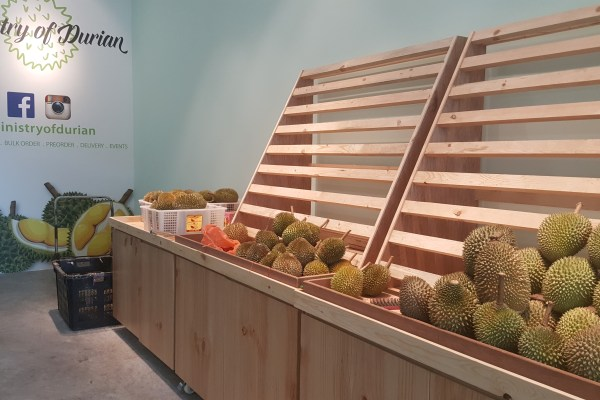 Ministry Of Durian, Paya Lebar, Singapore - Overview of interior