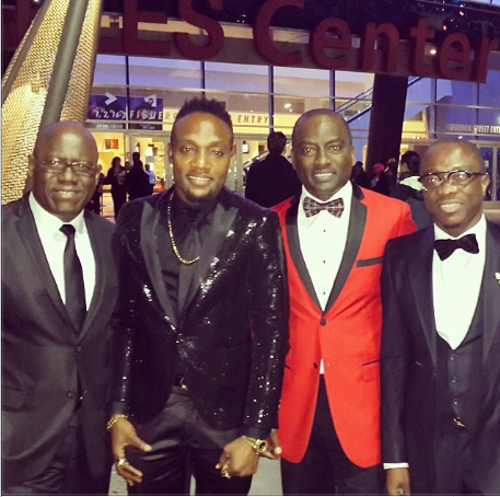 03 Pictures Of Nigerian Celebrities At The Grammys [Photo]