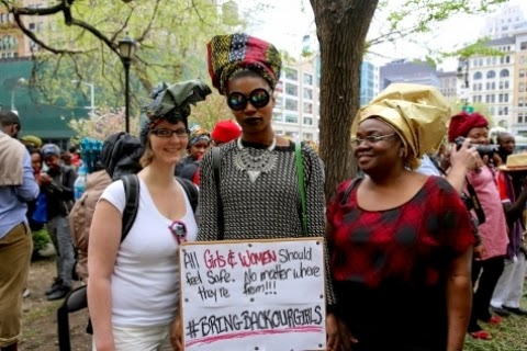 06 #BringBackOurGirls Protest Hold In Newyork And D.C (Photos)