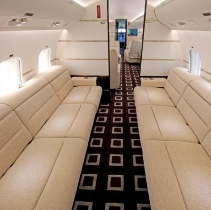 3bombardier global express xrs 3 Former Lagos Governor, Bola Tinubu Acquire $50Million Private Jet