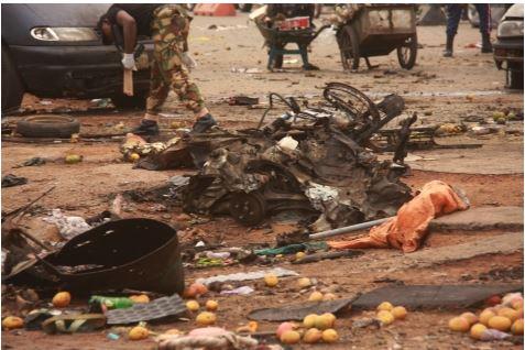 411 See Photo From Scene Of Abuja Bomb Blast Last Night
