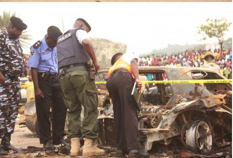 81 See Photo From Scene Of Abuja Bomb Blast Last Night