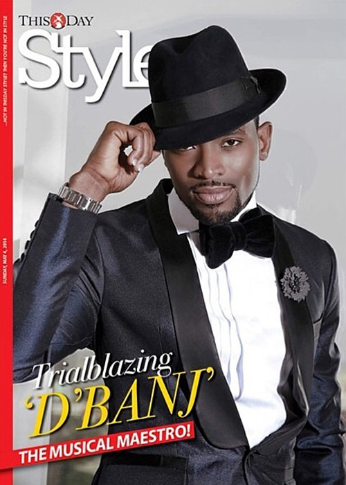 DBanj ThisDay Style [Photos] D'Banj Poses Like James Bond For This Day Style