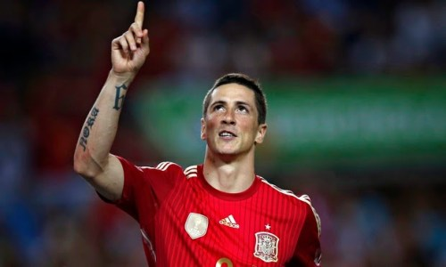 Fernando Torres Spain 012 500x300 [Video] Spain 2   0 Bolivia [Friendly] Highlights