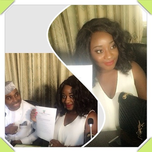 INI EDO NL 500x500 Ini Edo Offered A Scholarship To Study At National Open University Of Nigeria