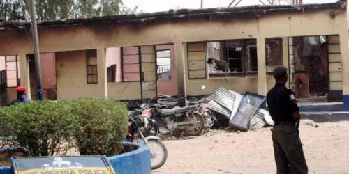 POLICE STATION NL 500x250 2 Policemen, 3 Others Killed As Gunmen Attack Police Station In Kaduna