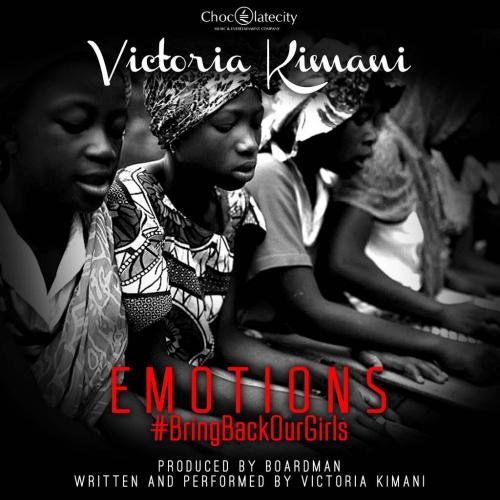 Victoria Kimani EmotionsBringBackOurGirls ART Naijaloaded.com .ng  500x500 [Music] Victoria Kimani – Emotions #BringBackOurGirls
