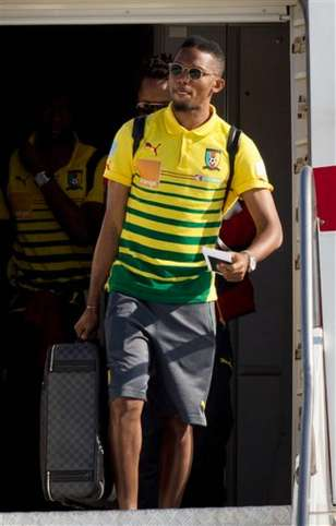 Eto arrives brazil NL Prophet T.B Joshua Proclaims Who Wins 2014 FIFA World Cup?