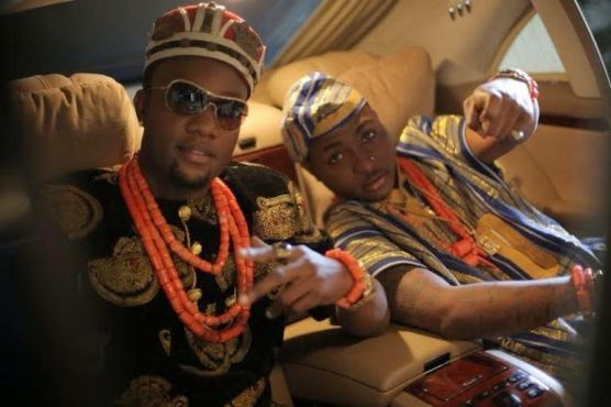 111 Kcee & Davido Collaborate On New Song, See Pics Of Them In Trad Attire