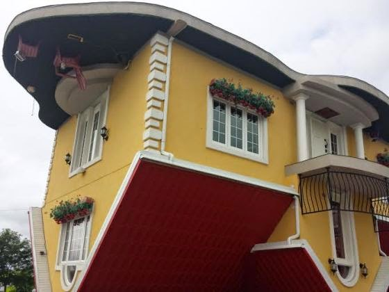 310 [Creativity] Check Out This House Built Upside Down