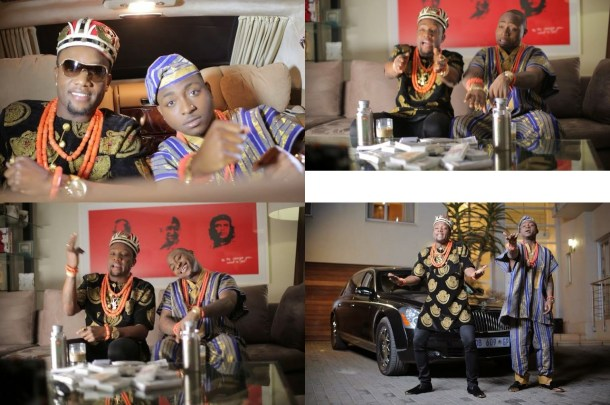kc1 700x465 Kcee & Davido Collaborate On New Song, See Pics Of Them In Trad Attire