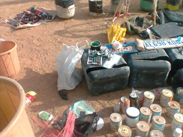PIC.16. ITEMS RECOVERED BY THE JTF DURING A RAID ON SUSPECTED BOKO HARAM MEMBERS HIDE OUT IN KANO 1 Boko Haram Plan Multiple Explosions In Maiduguiri During Sallah – Military