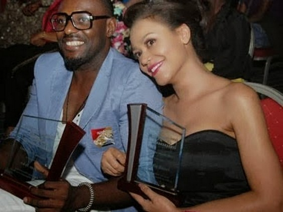 Work pics2258 Photo Of The Day:  Checkout Nigerian Entertainers And Their Girlfriends