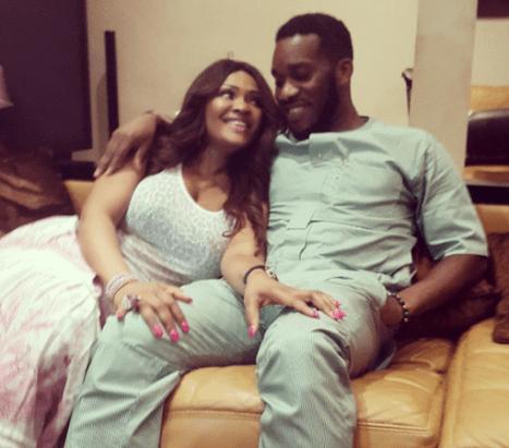 jay jay NL Jay Jay Okocha And Wife Love Up As They Celebrate Her Birthday