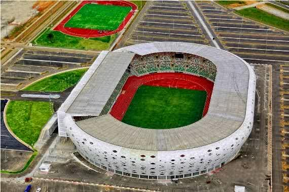 Akwa Ibom Steadium naijaloaded com4 See Akwa Ibom States World Class Stadium (Photos)
