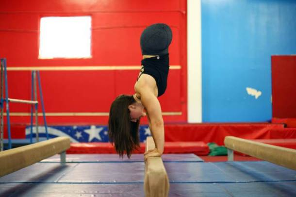 Girl1 700x466 AMAZING!! Girl Born With No Legs Become Gymnastics Champion [See Photo]