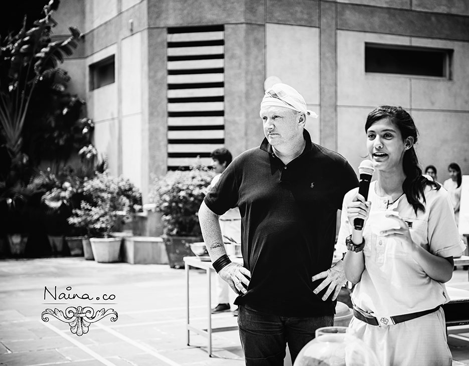 Chef Ian Curley of The European Restaurant, Australia at the CSSG Gastronomy Summit, 2012 photographed by photographer Naina Redhu of Naina.co