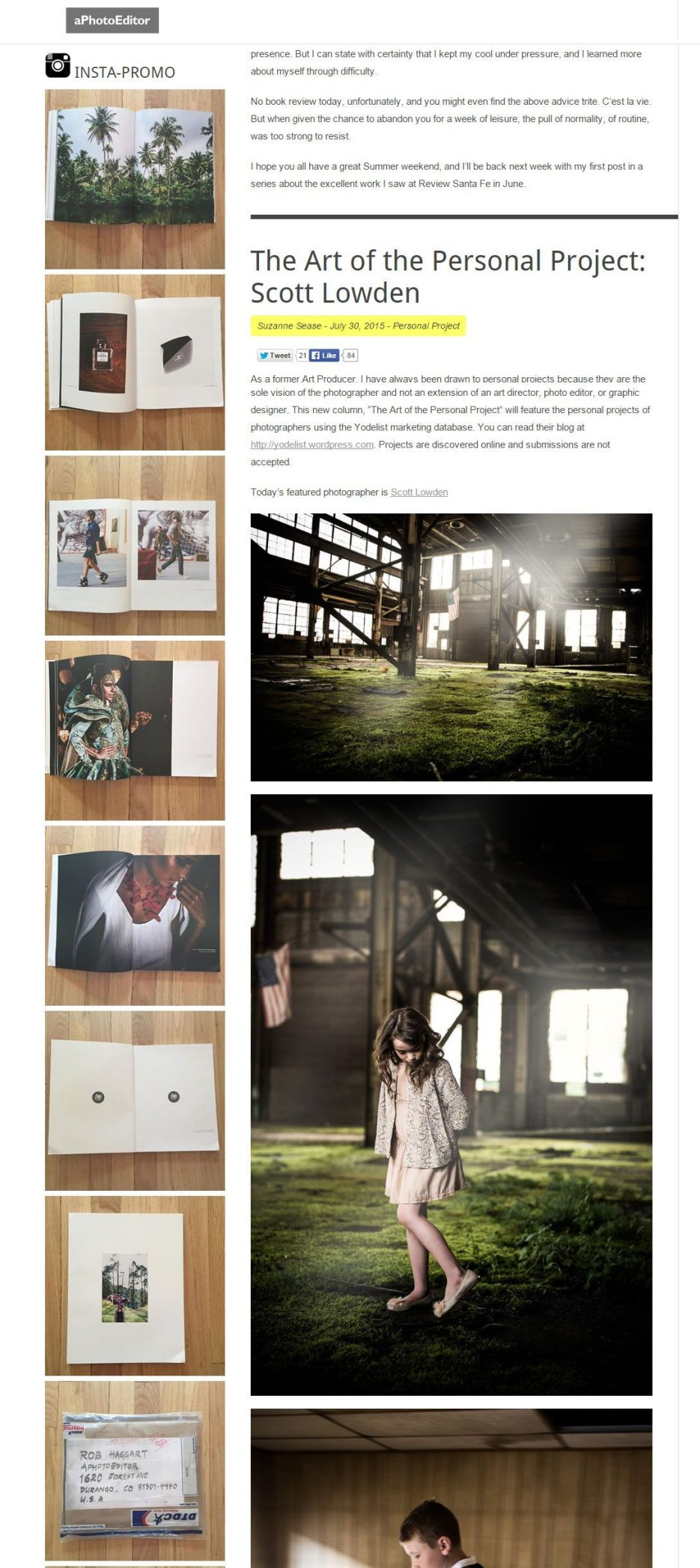 Photography Portfolio Book, Rob Haggart, aphotoeditor, Naina.co Luxury & Lifestyle, Photographer Storyteller, Blogger.