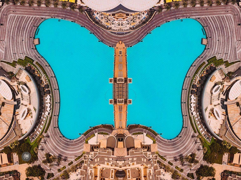 Dubai Cityscape, Water Zoomed In #EyesForDubai