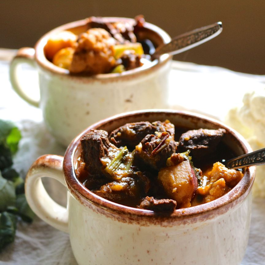 Smoky Venison Stew
