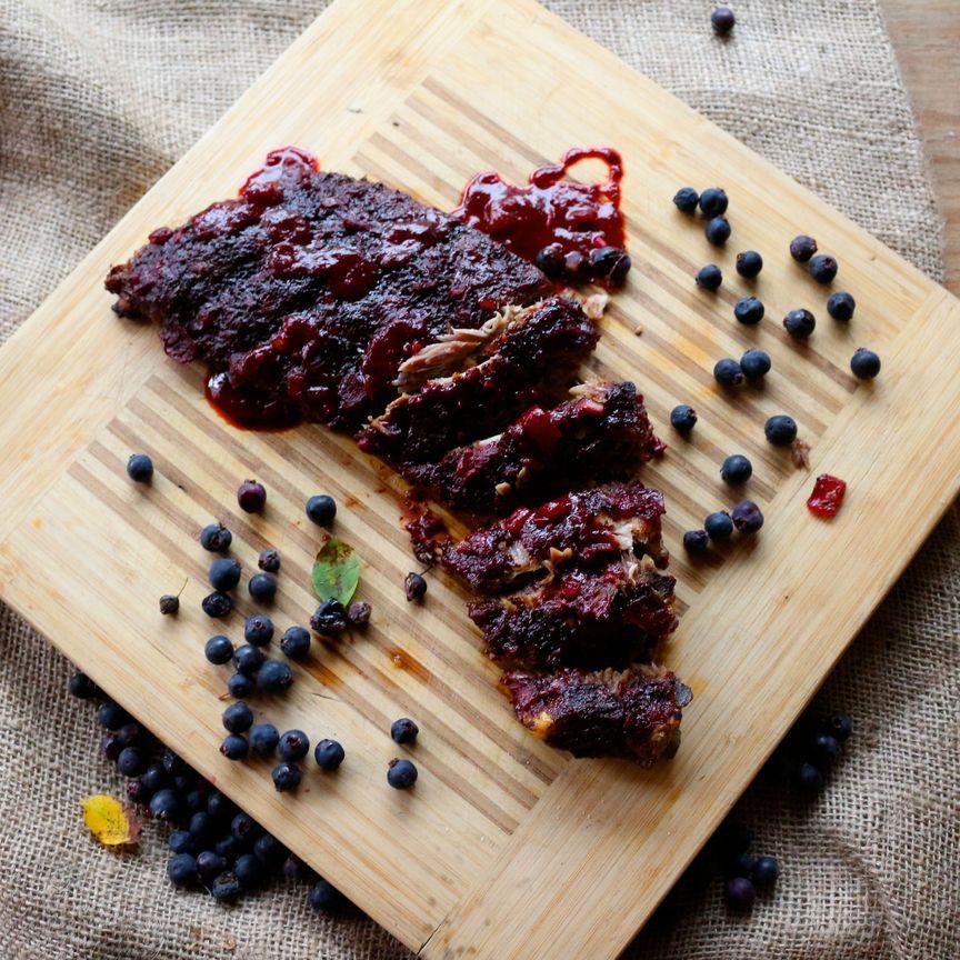 bumbleberry BBQ ribs