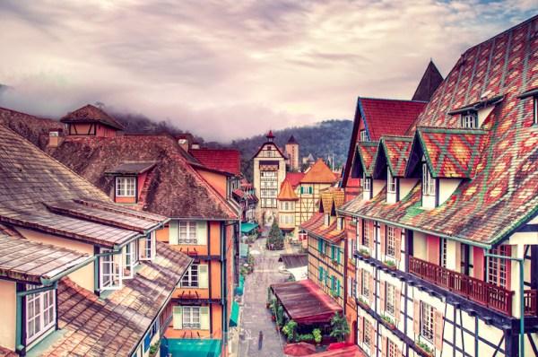 French-themed village Colmar Tropicale, Bukit Tinggi, Malaysia