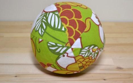 minkštas kamuoliukas