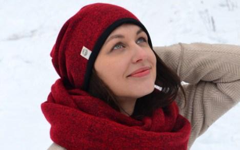 šilta kepurė su vilna