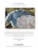 Free Knitting Pattern Top Down Garter Stitch Baby Jacket