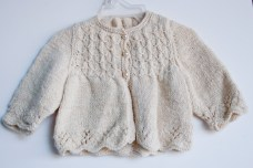 hand knit baby sweater-8652