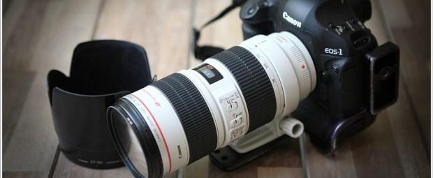 Canon EOS 1Dmk3 met EF70-200mm f/2,8L IS USM (5D041508)