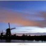 Kinderdijk at nightfall (1D131571)