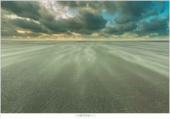 Storm bij de zandmotor, Kijkduin
