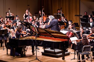 Frost Symphony Orchestra, cond. Leon Fleisher, opening night of theFestival Miami 2012