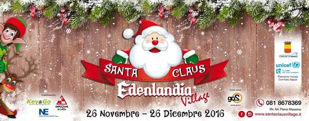 Santa Claus Edenlandia Village a Napoli