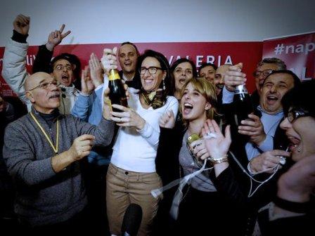 Napoli: vince Valente con 43,7%, Bassolino 42,2%