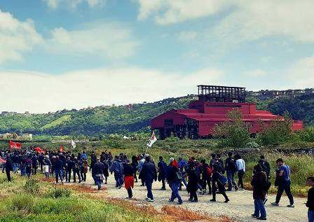 Sit-in Bagnoli Libera: a Roma Sud perquisiti come criminali