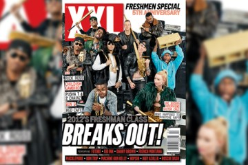 XXL 2012 Freshmen Cover (Front)