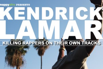 Kendrick Lamar Killing Rapper On Their On Tracks (Front)