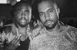 Wale & Kanye Front
