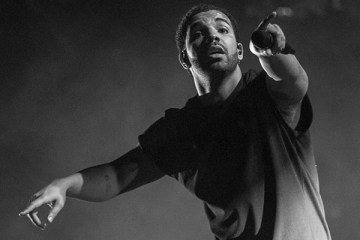 Drake performs Sunday at the Coachella Valley Music & Arts Festival in Indio.