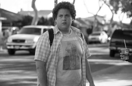 SB-012 : Jonah Hill stars as Seth in Superbad, the new film from producers Judd Apatow and Shauna Robertson (The 40-Year-Old Virgin), screenwriters Seth Rogen & Evan Goldberg, and director Greg Mottola. Photo Credit : Melissa Moseley.