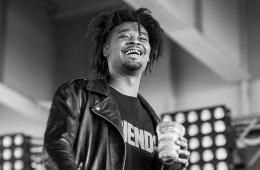 LOUISVILLE, KY - JULY 16:  Rapper Danny Brown performs at Waterfront Park on July 16, 2016 in Louisville, Kentucky.  (Photo by Erika Goldring/Getty Images)