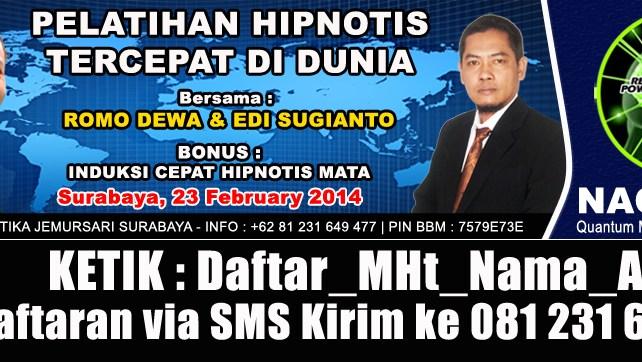 DAFTAR VIA SMS