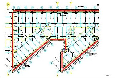 Thetford Academy Scaffolding Design Drawings