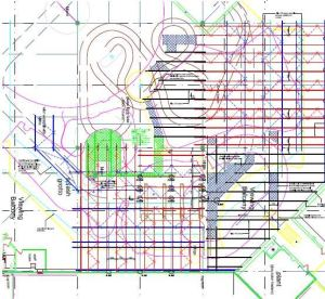 Butlins Water Park Scaffold Plan