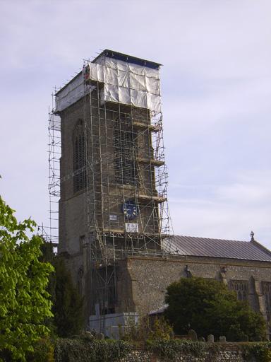 Restoration of Norfolk Church Tower