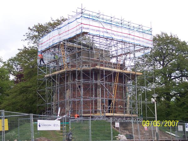 Restoration of Redmount Chapel for English Heritage